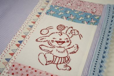 bunny pillow case