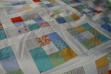 city weekend quilt top