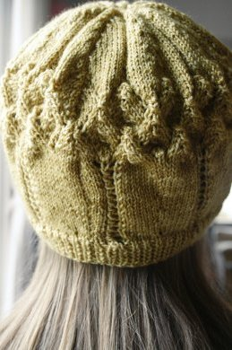 hat, back view